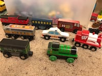 Lot of wooden trains  Madison, 53705