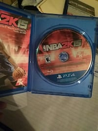 NBA2K15 Sony PS4 game disc with case Lethbridge, T1K 2S5