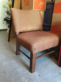 Tipping chair, note back legs Thousand Oaks, 91362