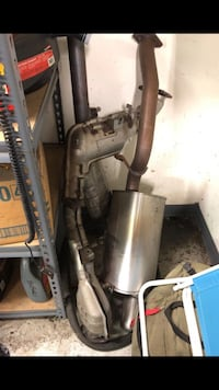 Subaru STI OEM turbo back exhaust system West Covina, 91790