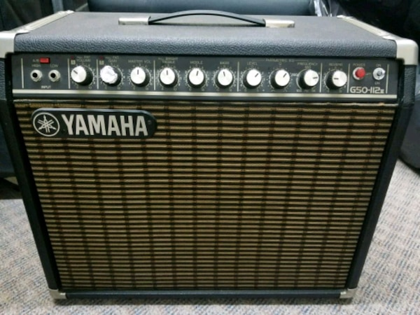 used black and gray yamaha guitar amplifier for sale in san jose letgo