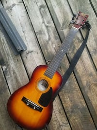 red and black classical guitar Mississauga, L5C 2G6