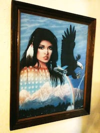 Price Reduction Majestic Maiden 1994 Framed Print