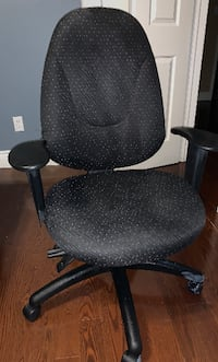 Black Fabric Office Chair - Excellent Condition Mississauga