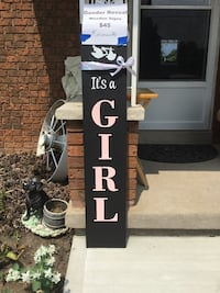 """BABY Girl  REVEAL!  Reversible It's a boy/girl"""".Delivery avail."""