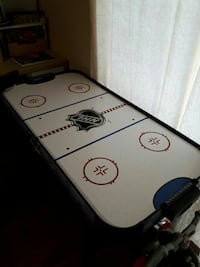 white and black air hockey table Richmond Hill