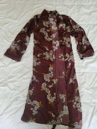 Purple Floral Robe - L  728 km