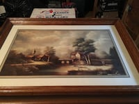Painting with nice wooden frame  CATONSVILLE