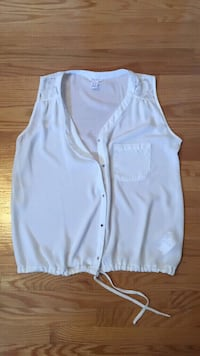 Sleeveless blouse, medium