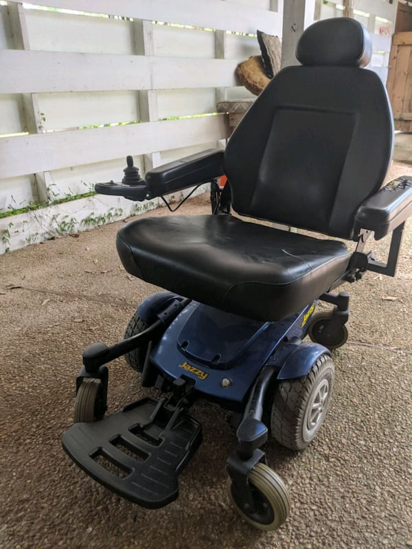Electric Wheelchair Jazzy Select 6 2