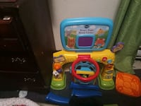 toddler's blue and yellow Vtech learning walker Elizabeth City, 27909