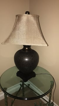 black and gray table lamp St. Charles, 60174