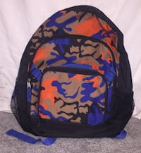 black, blue, and red backpack Woodford, 22580