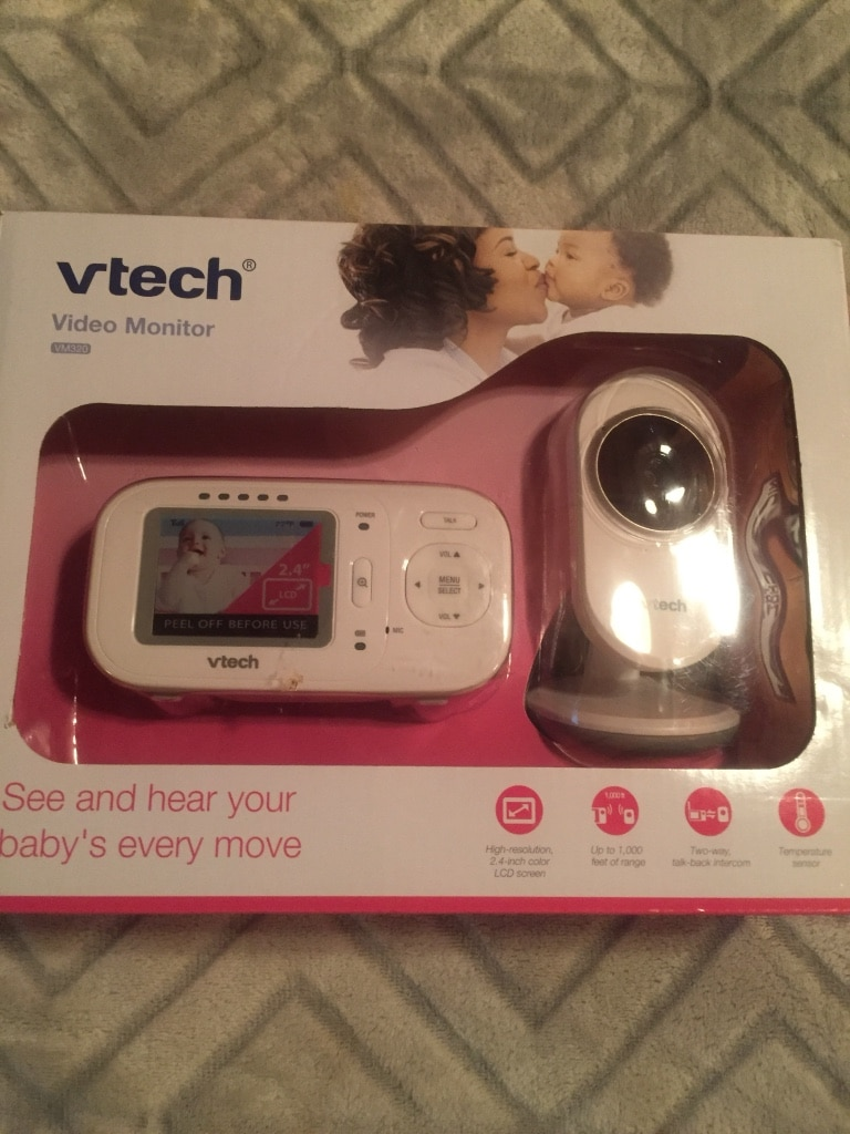 white and black Vtech Kidizoom camera in box for sale  Waterville