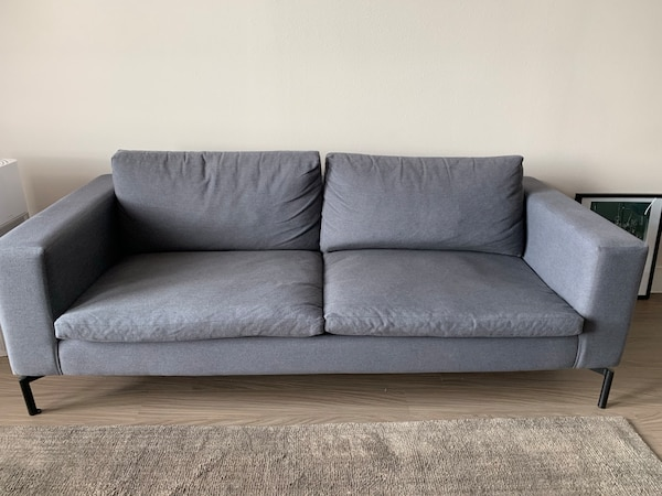 Blue Dot - New Standard 78-Inch Sofa - Sanford Coal