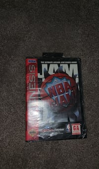 NBA JAM for Sega Genesis **Unopened**