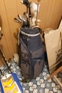 Ladies Rh Big Bertha golf clubs with bag and cart