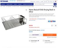 Stainless steel dish drying rack Pittsburgh, 15237