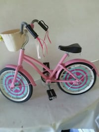 American doll toy pink and white bicycle Greenville, 29611