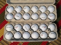 Two dozen mint condition Wilson golf balls Toronto, M2M 2A3