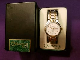 Caravelle by Bulova two tone