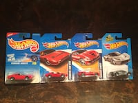 Hotwheels Ferrari collection