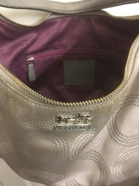 Coach authentic grey handbag Surrey, V4N 0Y7