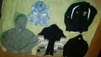 Jackets, cardigans and misc top