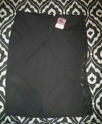 Large black dress skirt