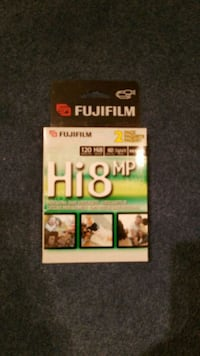 Hi8 Video Cassette (2 pack) Laval, H7X 3N6