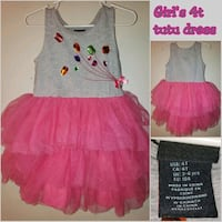 girls tutu dress 4t Bakersfield, 93301