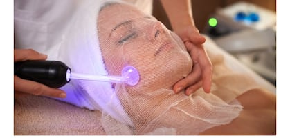 high frequency skin treatment facial