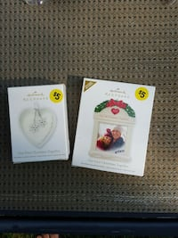 $5 first Christmas together 2 Hallmark ornaments..$5 for both Hagerstown, 21740