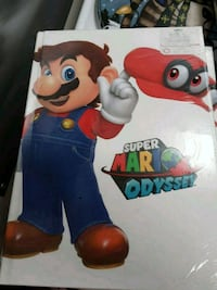 Super Mario Brothers Odyssey game book Franklin, 16323