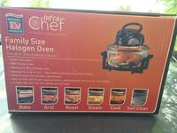 Halogen chef oven, roast, cooks complete meals in have the time. Glen Ellyn, 60137