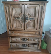 brown wooden cabinet with drawer Chantilly, 20152