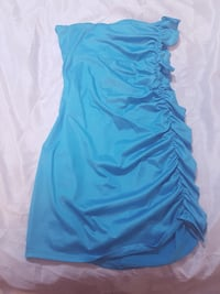 Cute strapless baby blue dress - size S/M - barely worn 507 km