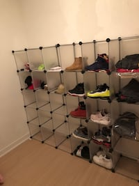 assembled shoe rack $50 for every 5 squares   Toronto, M5V 4A8