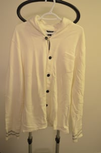 Men's Club Monaco Button Half Hoodie Toronto