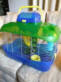 Hamster cage with travel cage, New Annandale, 22003