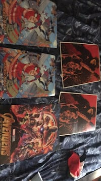 two red and black comic books Pembroke Pines, 33025