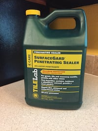 Surface sealer for tile and grout. New never used. Still has seal on it. Paid over $100/gallon. Had one to many. Spreads thinly and goes a long way. 1 gal. can do about 3 rooms Ragley, 70657