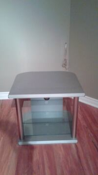 Gray and silver TV stand Laval, QC, Canada