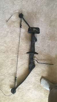 black and brown compound bow Beaverlodge, T0H