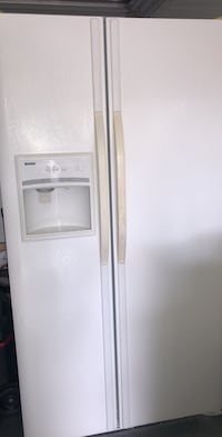 White side-by-side refrigerator with dispenser Saint Petersburg, 33712