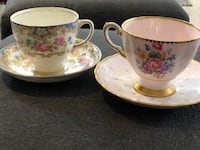 Made in england collector tea cups w/saucer Toronto, M9N 2E4