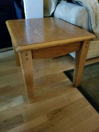 "Wood End table 22"" X 26"" X 21""high Brampton, L6R 1L5"