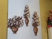 3 Piece Decorative Floral Wall Art Burlington