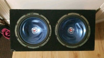 """10"""" KENWOOD SUBS IN BOX"""