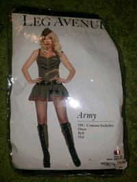 Army Halloween costume  New Westminster